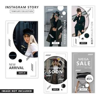 Coleção de modelos de histórias do instagram