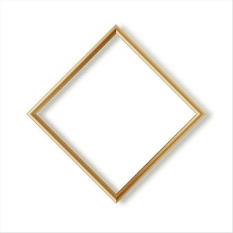 Coleção de molduras para fotos em madeira. design de moldura de imagem 3d para imagem ou texto