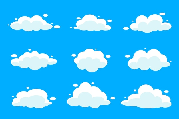 Coleção de nuvens