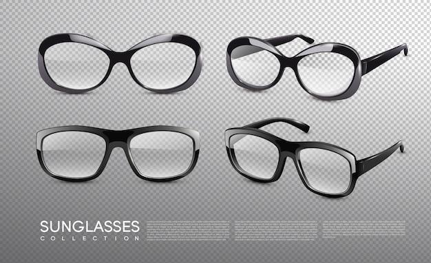 Coleção de óculos de sol da moda