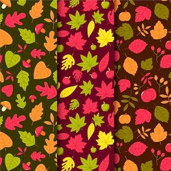 Coleção de outono padrão