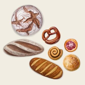 Coleção de padaria