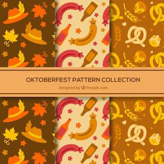 Coleção de padrões clássicos mais oktoberfest