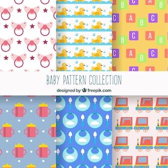 Coleção de padrões de bebê