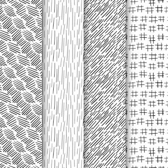 Coleção de padrões de gravura