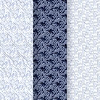 Coleção de padrões geométricos