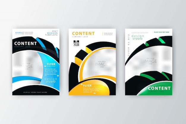 Coleção de panfletos de relatório anual 2020