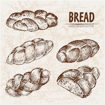 Coleção de pão grande