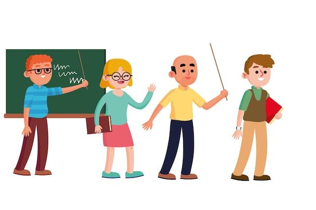 Coleção de professores