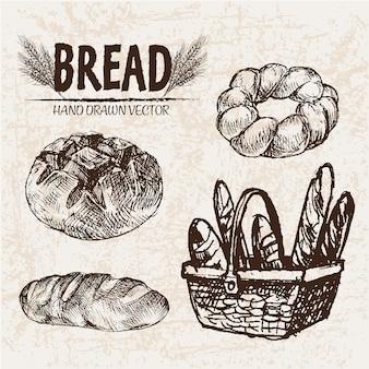 Coleção de projetos de pão