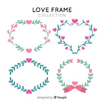 Coleção de quadros de amor