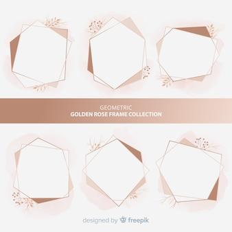 Coleção de quadros geométricos