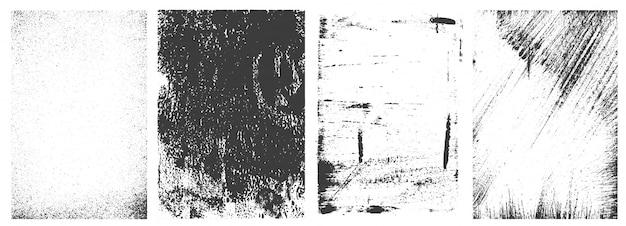 Coleção de quadros retrô grunge