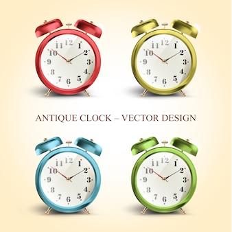 Coleção de relógio antigo