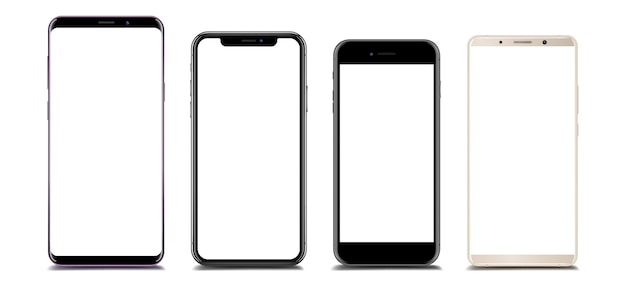 Coleção de smartphone diferente