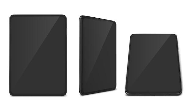 Coleção de tablet realista