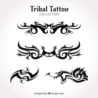 Coleção de tatuagem tribal