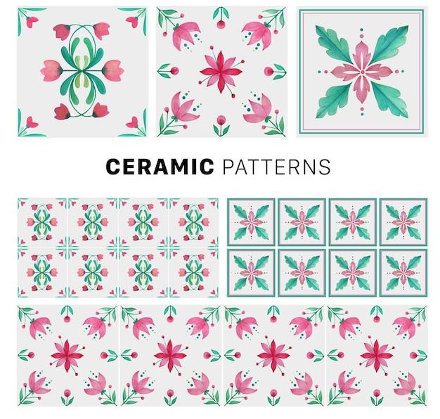Coleção de telhas cerâmicas 6