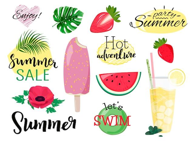 Coleção de verão.
