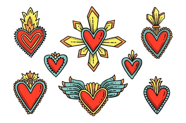 Coleção do coração sagrado