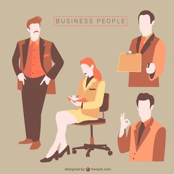 Coleção do homem de negócios
