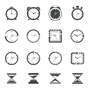 Coleção do ícone do tempo