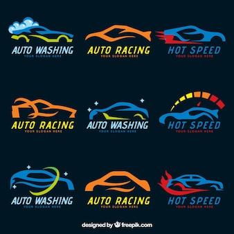Coleção do logotipo do carro