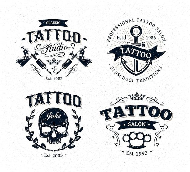 Coleção do logotipo do tatuagem