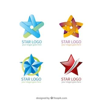 Coleção do logotipo star