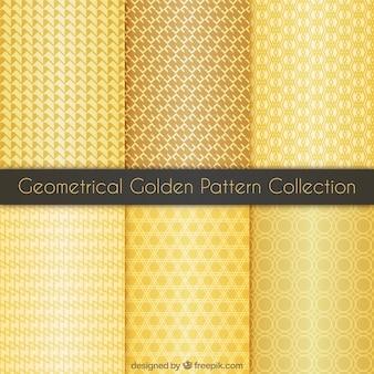 Coleção do teste padrão de ouro