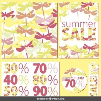 Coleção do verão venda artigos de papelaria
