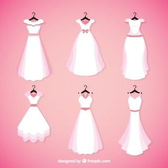 Coleção do vestido brid bonita