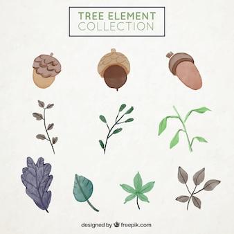 Coleção dos elementos da árvore