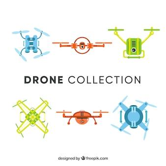 Coleção drone com estilo divertido
