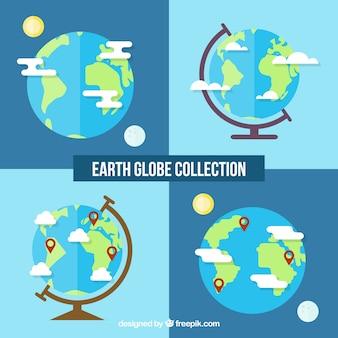 Coleção earth globe