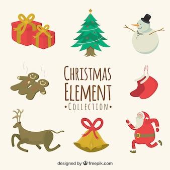 Coleção elemnt de natal