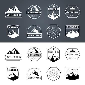 Coleção emblema aventura