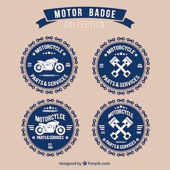 Coleção emblema motor