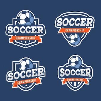 Coleção emblemas de futebol