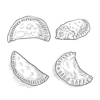 Coleção empanada