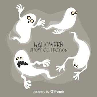 Coleção fantasma de halloween