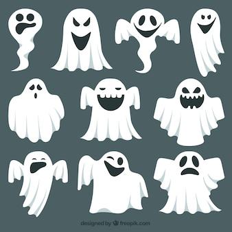Coleção fantasma expressivo