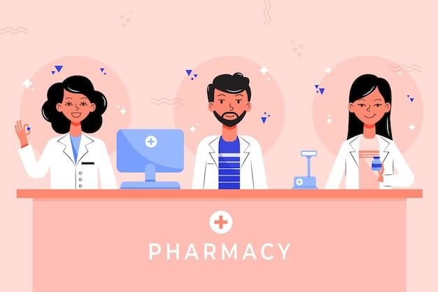Coleção farmacêutico