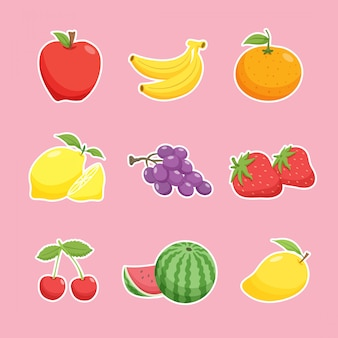 Coleção fruits