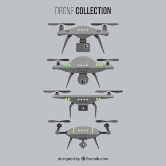 Coleção futurista de drones