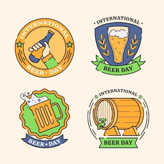 Coleção internacional de crachás de cerveja