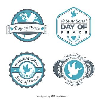 Coleção legal de emblemas de paz