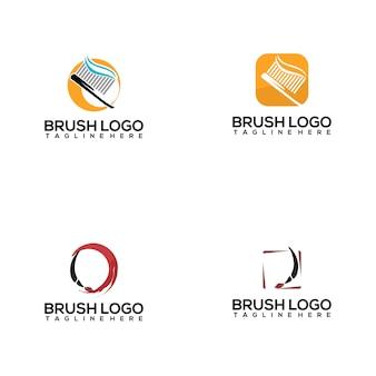 Coleção logo brush
