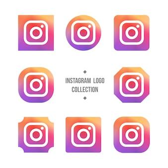 Coleção logotipo instagram