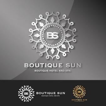 Coleção logotipo modelo boutique